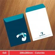 Envelope Saco - 200x280mm - 4x0 - 500 Unidades